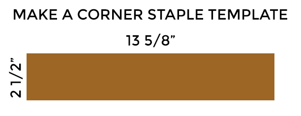 WEB - CORNER STAPLE TEMPLATE