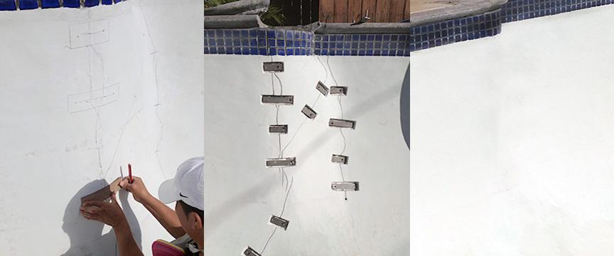 Torque Lock Staples In A Pool