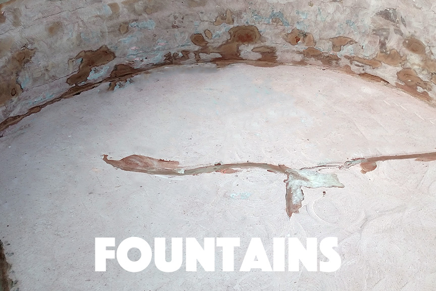 Fountain With Cracking